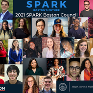 Members of the 2021 Spark Boston Council