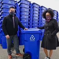 THE CITY OF BOSTON INTRODUCES NEW RECYCLING CARTS MADE OF OCEAN BOUND PLASTICS
