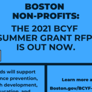 2021 BCYF Summer Grants graphic